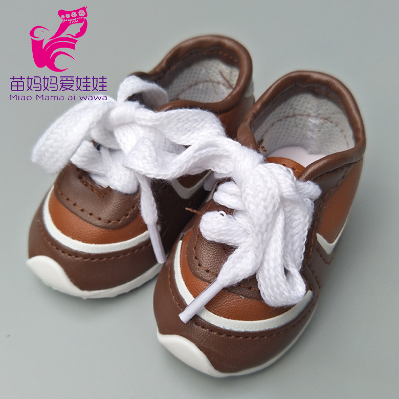 Latest Product  Doll Shoes Fits 43cm baby new born Dolls Reborn Bebe Doll boots 18 inch boys girls doll sports shoe