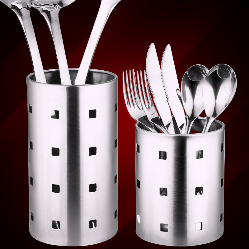 Tableware Utensil Holder Storage Basket Holder Rack Bracket Chopstick Spoon Bucket Knife Fork Dinnerware Kitchen Accessories in Utensil Sets from Home Garden