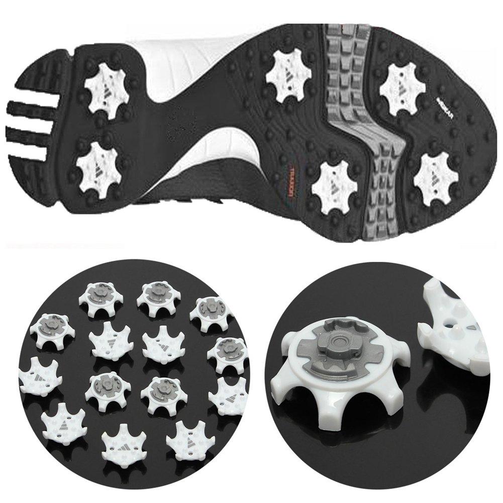 New Sale 14 Pcs Golf Shoe Spike Replacement Cleat Champ Twist Screw Studs Anti Slip