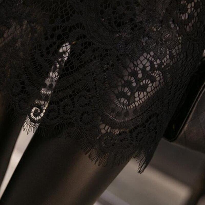 de3ca369023652 ZYFPGS 2018 Winter legging Leggings women Sexy Punk Rock Lace Legins Dames  kleding Plus size High waist leggings 180405-in Leggings from Women's  Clothing on ...