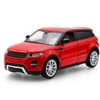 2017 حار بيع 1:32 روفر suv jeep دييكاست سبيكة معدنية فاخرة نموذج تجميع نموذج التراجع اللعب سيارة سيارة هدية لصبي