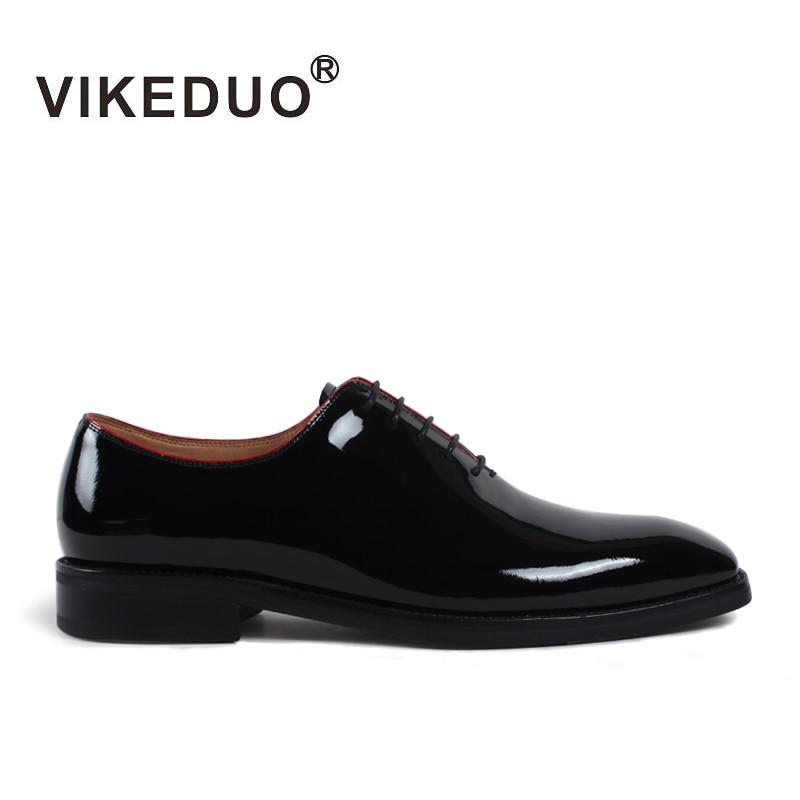 Oficina Hombre Zapatos Hombres Plana Cuero Hecho Fiesta De Los Italia A Zapato Mano Moda Genuino Negro Oxford Black Boda Vikeduo gFCxqAwPC