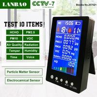 Portable Homeuse Smart Air Gas Pm2 5 Pm10 Detector