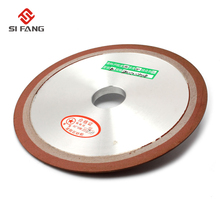 цена на 180x10x32x8mm  PDX  Tapered Plain Resin Diamond Grinding  disc Wheel to Grind Carbide Hard Steel 150 Grit  75%