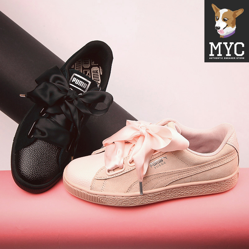 2018 New Arrival PUMA Suede Heart Womens Sneakers Badminton Shoes size36-41