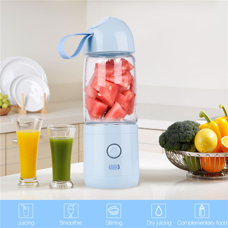 550ml Electric Juicer Blender Juicer Squeezer Cup Picnic Juice Smoothie Maker Vegetable Juice Mixer Complementary Food Maker 31 coffee juice smoothie milk electric mixer cup