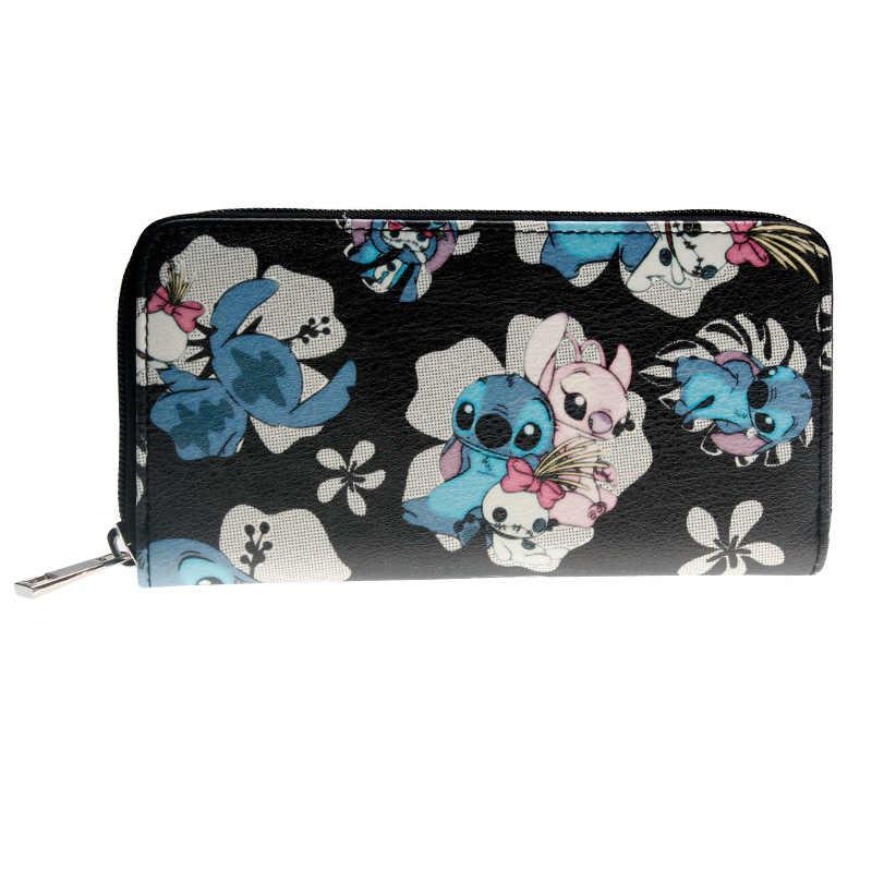Stich Zip Um Brieftasche Mode Frauen Brieftasche Designer Marke Geldbörse Dame Partei Geldbörsen Weibliche Karte Halter DFT-2055