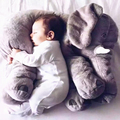 elephant pillow 60cm Colorful Giant Elephant Stuffed Animal Toys Lovely Pillow Baby Toys Baby Gifts for Christmas