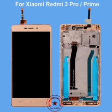 5.0inch For Xiaomi Redmi 3 Pro LCD Display + Touch Screen New Arrived Panel Replacement For Xiaomi Redmi 3 Prime 1280X720 HD