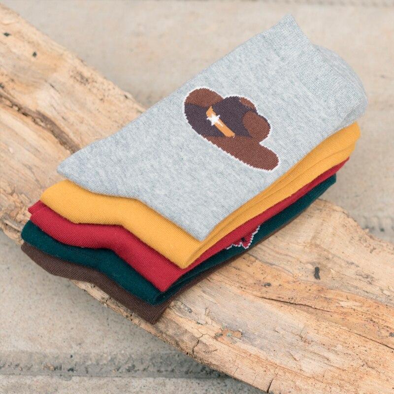 Man Socks original hand-painted cotton socks man socks Winter Thick Warm EUR39-44