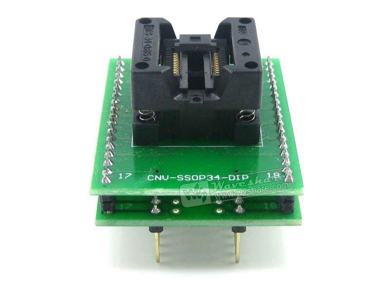SSOP28 TO DIP28 (B) TSSOP28 Enplas IC Test Socket Programming Adapter 0.65mm Pitch бесплатная доставка ic интегральной схемы max3238ecpwr ic rs232 3 в 5 5 в drvr 28 tssop 3238 max3238 3 шт