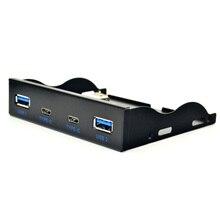 2 USB3.1 TYPE-C флоппи-дисковод бит передняя панель 20PIN экспресс TYPE-C + USB3.0 19-контактный для USB3.1 TYPE-C