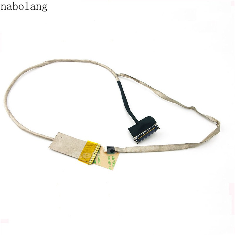 For HP Pavilion G7-2000 Series LED LCD Screen LVDS Video Cable DD0R39LC000 repair For HP G7-2000 LCD Display Video Flex Cable