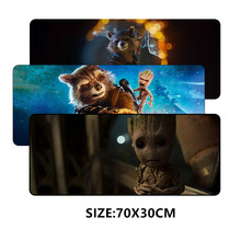 SIANCS 70*30cm Cute Mouse pad Mat Anime Sexy Gaming XL Large Grande mousepad gamer Desktop decoration Groot Rocket Raccoon(China)