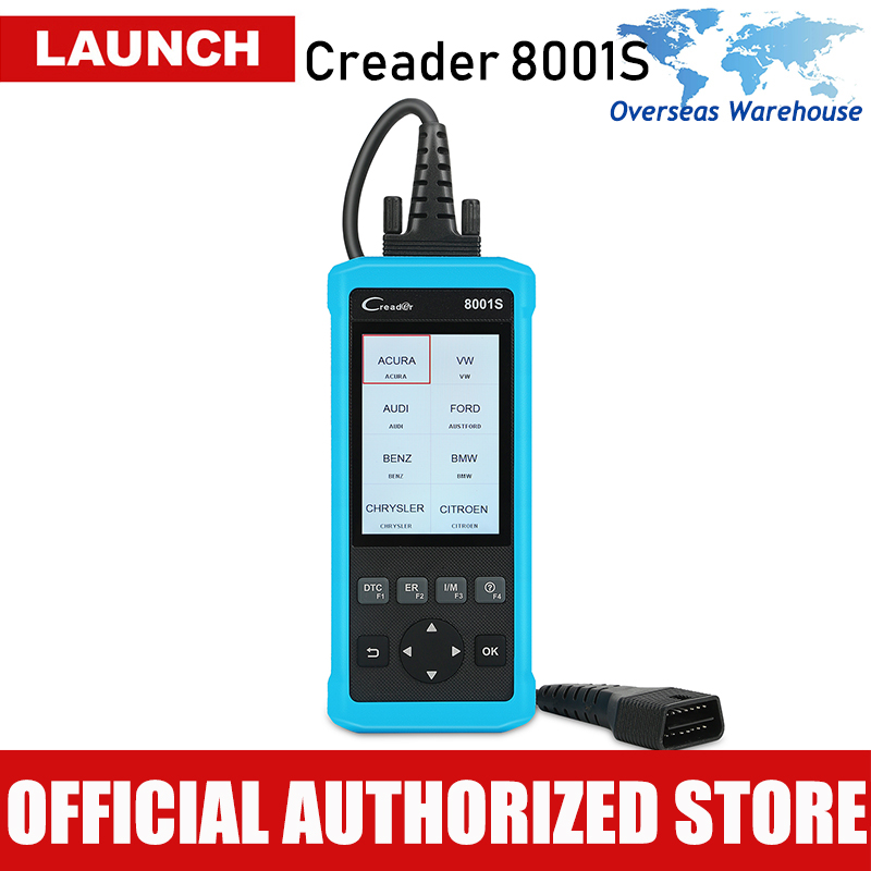 Trend Mark Launch Creader 8001s Obd2 Scanner 4 System Car Diagnostic Tool Automotive Scaner Autoscanner Auto Scan Tool Cr8001s Pk Crp129 High Quality Interior Accessories