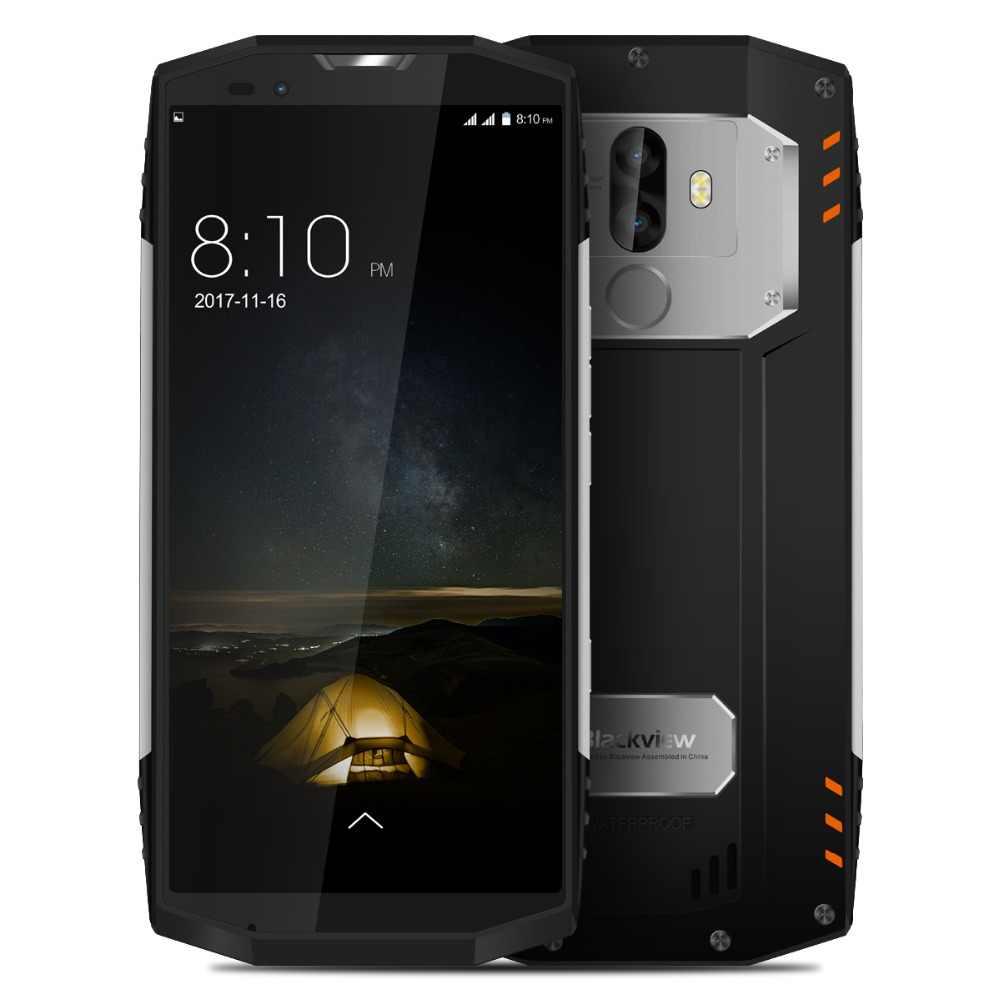 """Blackview BV9000 Pro étanche antichoc double SIM Smartphone Helio P25 Octa Core 6 GB + 128 GB 5.7 """"18:9 téléphone portable Face ID"""