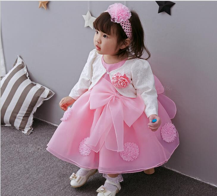 2017 New Girl Kids Festival Party Wear Baby Girl 1st Birthday Outfits Newborn Bebes Christening Gowns Baby Girl Dress Baby Girl Dress Christening Gownschristening Gown Baby Aliexpress