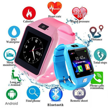 2019 Smart Watch DZ09 Touch Screen Children Kids Wrist Smartwatch Bluetooth Watch For IOS Android Phone With SIM Card Passometer цена