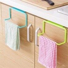 Towel Rack Bar Hanging Holder Rail Organizer Bathroom Cabinet Cupboard Hanger Kitchen Accessories Storage