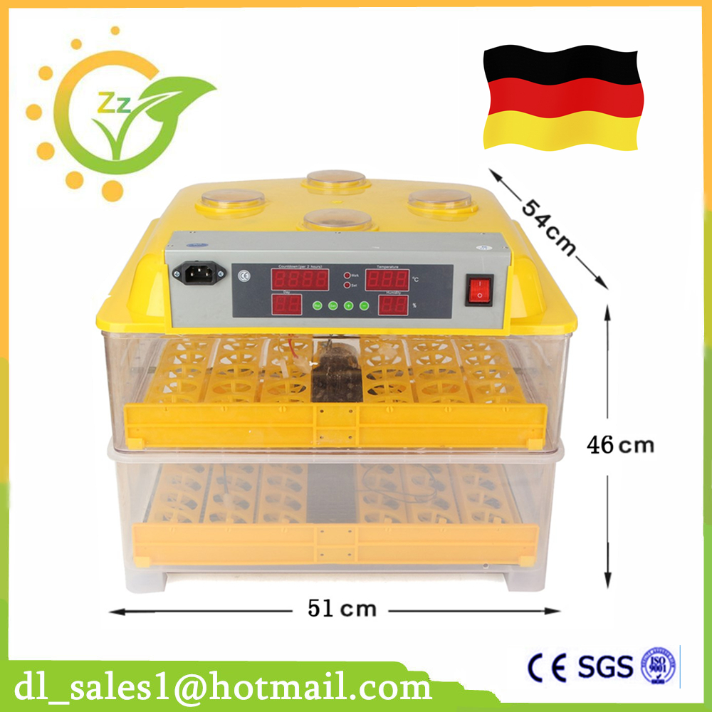 Automatic Temperature Controller 220V 96 Eggs Incubator Mini Full Digital Incubator Machine For Sale  temperature controller digital temperature controller for incubator 48 48 70mm spg 6000