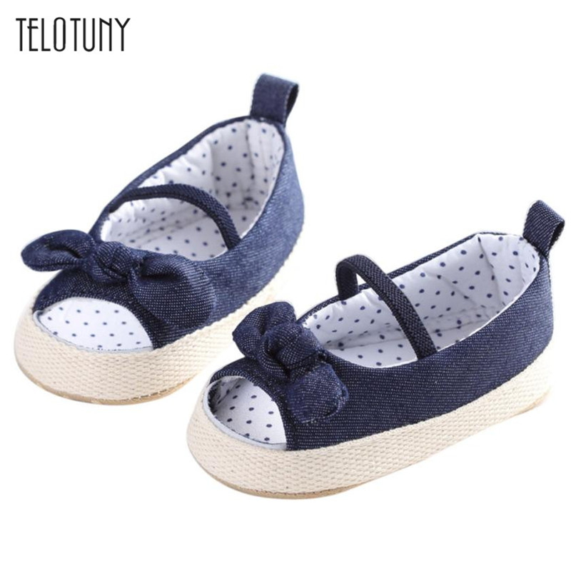 TELOTUNY Baby Infant Kids Girl Soft Sole Crib Toddler Newborn Shoes comfortable Anti-slip Crib Shoes S3FEB17