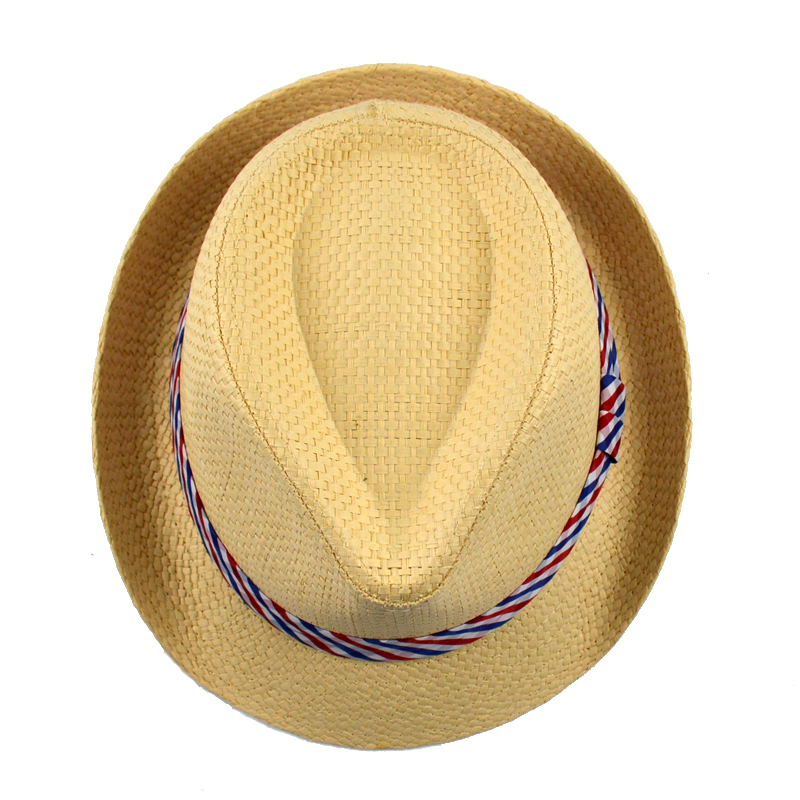 63d491baadee 2017 Fashion Summer Beige Straw Hat For Baby High Quality Paper Kids ...