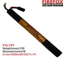 1pcs 100 Orginal Firefox 11 1V 1500mAh 15C Li Polymer font b battery b font F3L15T