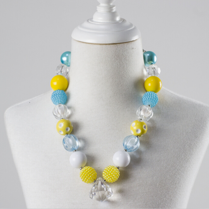 Kids Chunky Bead Necklace Child Chunky Necklace Jewelry For Little Baby Girls!!