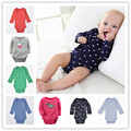Free shipping 2016 New Original Carte Baby Girls Boys Long Sleeves Cotton Bodysuit,Baby Fashion Jumpsuit Newborn- 24m baby cloth