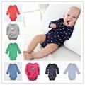 Free shipping 2016 New Original Carte Baby Girls Boys Long Sleeves Cotton Bodysuit,Baby Fashion Jumpsuit Newborn- 24m baby cloth