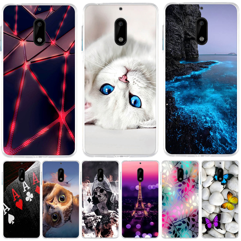 Case For <font><b>Nokia</b></font> <font><b>6</b></font> Case <font><b>Cover</b></font> Silicone Fundas For <font><b>Nokia</b></font> <font><b>6</b></font> Case TPU Coque Capas <font><b>Back</b></font> <font><b>Cover</b></font> For <font><b>Nokia</b></font> <font><b>6</b></font> TA-1033 TA-1021 Phone Case image