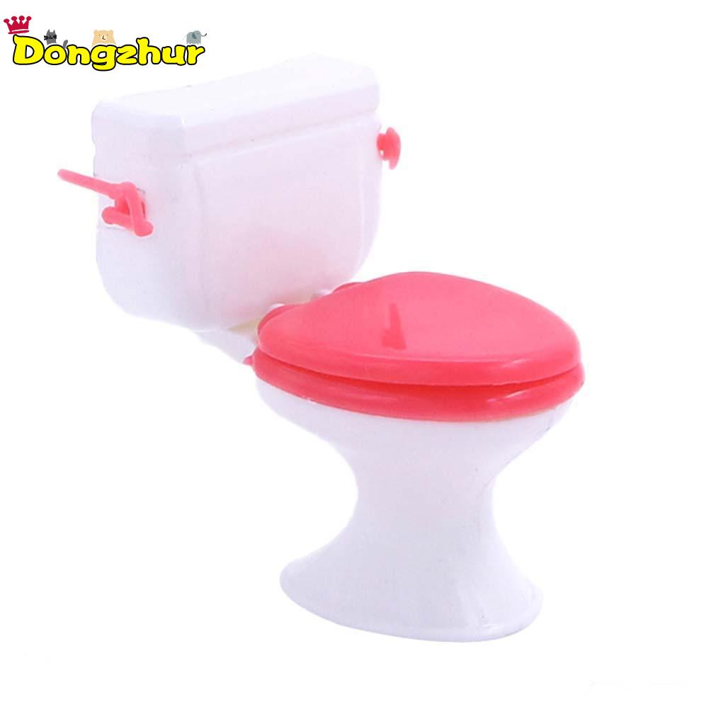 1:12 Doll Accessories Plastic Toilet Doll <font><b>Toys</b></font> Bathroom Furniture Doll House Decoration Kitchen <font><b>Toy</b></font> <font><b>for</b></font> <font><b>Children</b></font> GJJ4997A image