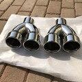 Автомобильная выхлопная труба модифицированный задний ларингеальный один делится на два для BMW 320li X3 X1 E90 E92 318316535 1 шт