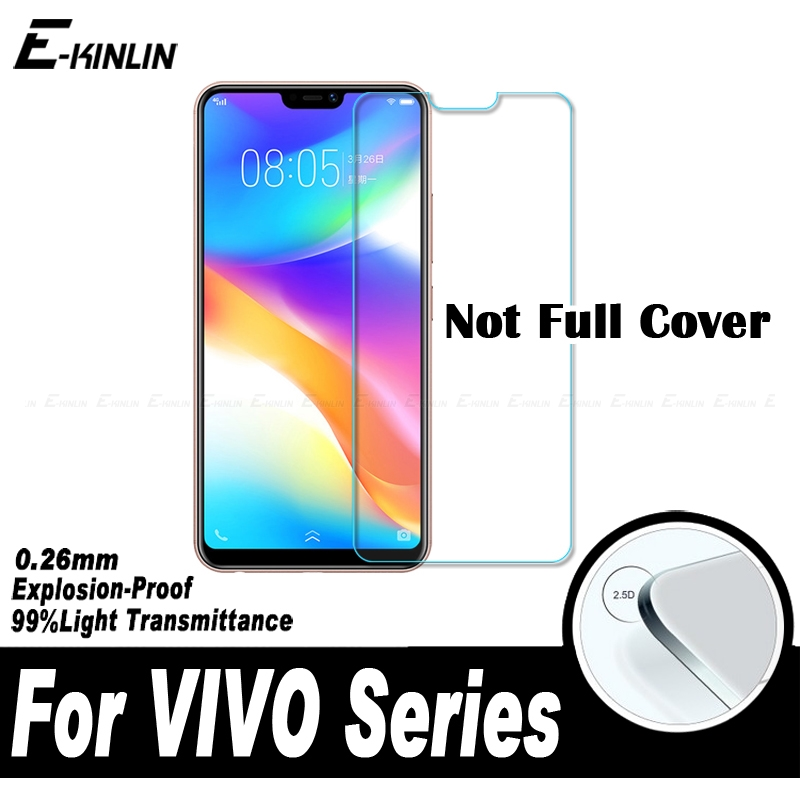 0.26mm 2.5D Screen Protector Protective Glass Film For BBK VIVO Y95 Y93 Y91 Y85 Y83 Y81 Y71 Y65 Y53 Y53i Tempered Glass