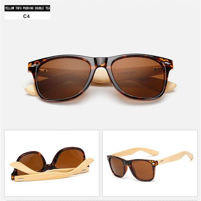 9701c19d3567c Dropwow MuseLife Bamboo Sunglasses for Men Women Travel Goggles Sun ...
