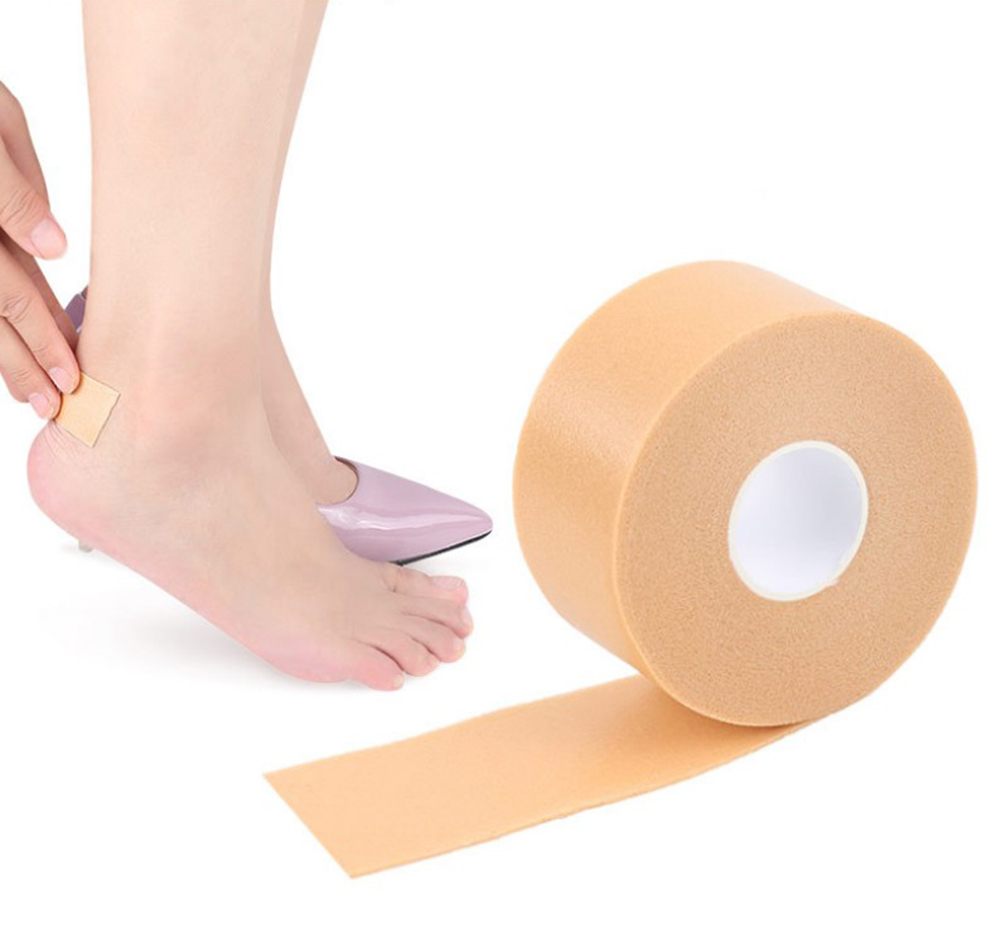 Silicone Gel Heel Cushion Protector Foot Feet Care Shoe Insert Pad Insole Useful heel protector cous