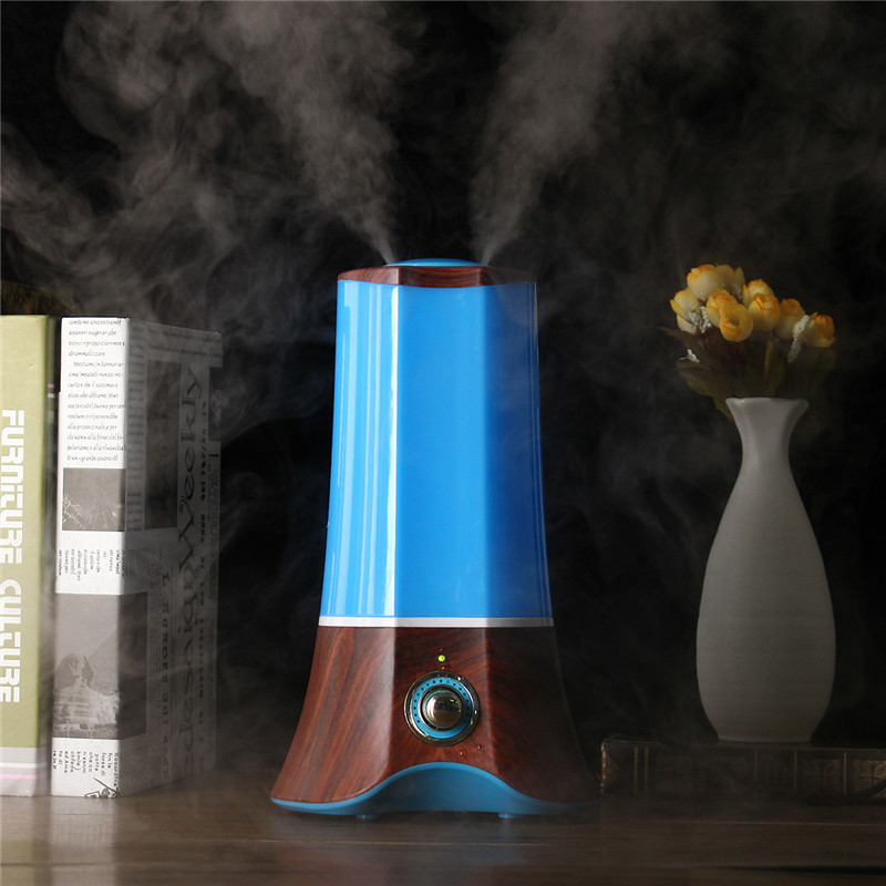 1.5L Wood Grain Ultrasonic Aromatherapy Humidifier Essential Oil Diffuser Light Mist Maker Fogger 110V-220V US Plug hot sale humidifier aromatherapy essential oil 100 240v 100ml water capacity 20 30 square meters ultrasonic 12w 13 13 9 5cm