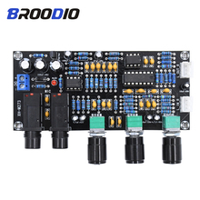 PT2399 Digital Amplifier Board Karaoke Reverberation Board Karaoke K Song Singing Amplifiers Microphone Amplification Dual AC12V цена 2017
