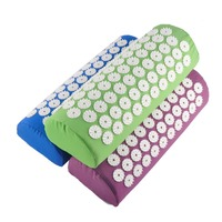 Hight Quality Massager Cushion Acupressure Mat Relieve Stress Pain Acupuncture Spike Yoga Mat Free Shipping By