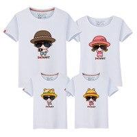 Spring Xia Xinkuan Tide Children S Garment Parenting Dress Family Daughter Cartoon New Time Fan T