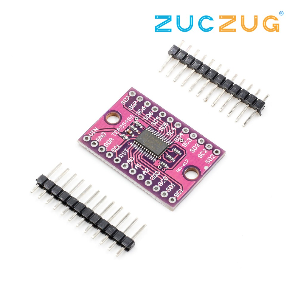 TCA9548A 1-to-8 I2C 8 -way Multi-channel Expansion Board IIC Module Development Board TCA9548