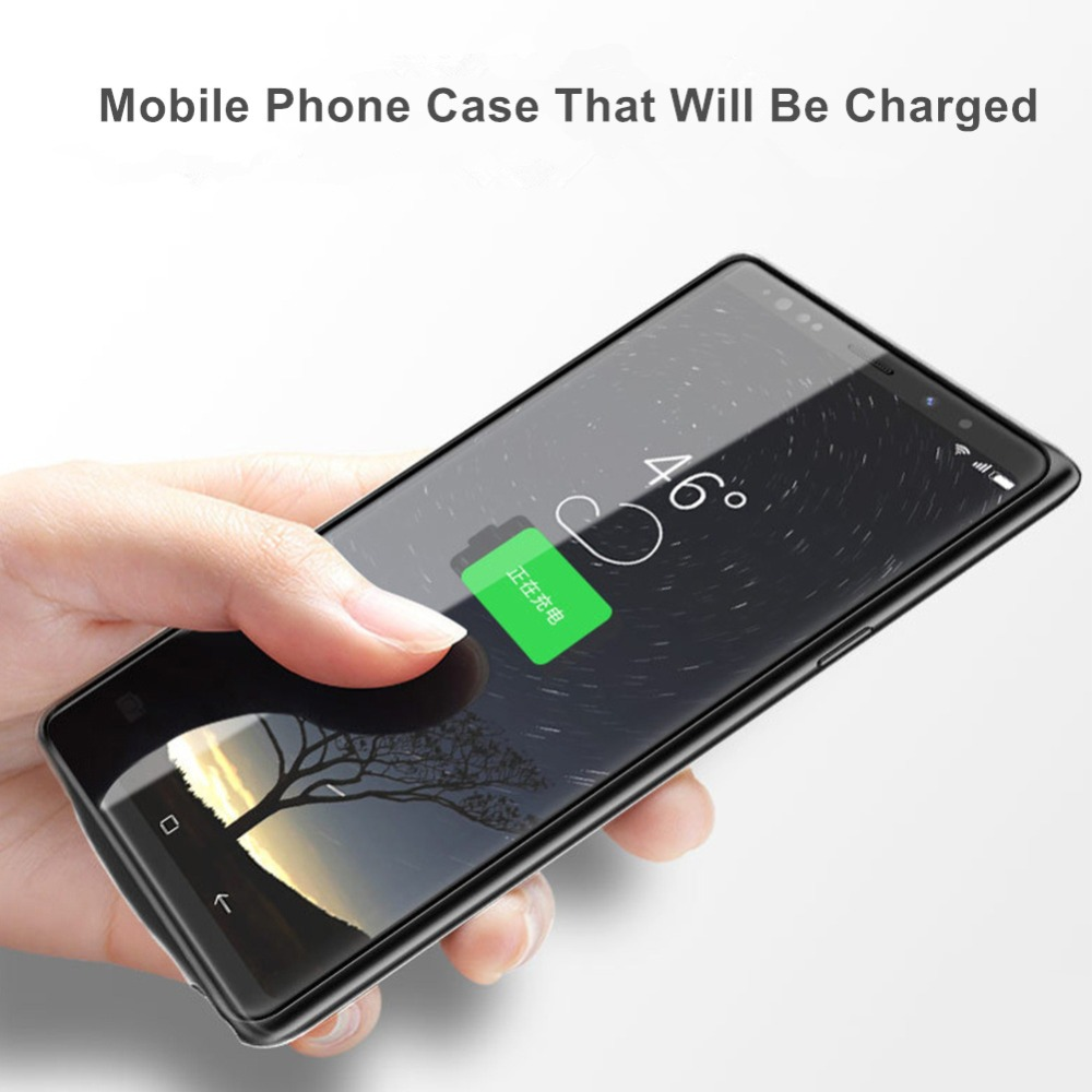 Fast charge For Samsung Galaxy Note 9 Battery Case 5000 mah External Charger Cover Power Bank For Samsung Note 9 Battery Case (4)