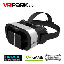 VR PARK V5 VR Glasses Immersive Virtual Reality 3D VR Headset Binocular VR Box for 4.0 – 6.0 inch Smartphone