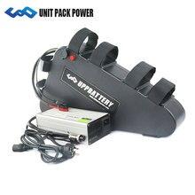 Бесплатная доставка Высокая мощный электрический велосипед треугольник батарея 52 в 21Ah литиевая с USB 30A BMS и зарядное устройство