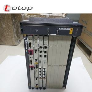 Image 2 - HW MA5683T GPON OLT 10GE Uplink MA5683T шасси + 2 * SCUN + 2 * X2CS + 2 * gicf PRTE плата GPON с 4 шт. для программирования в производственных условиях модули для X2CS