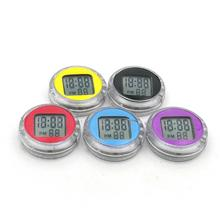Multifunction Auto Car Electronic Clock Humidity Meter HumidityMini Decorative High Quality