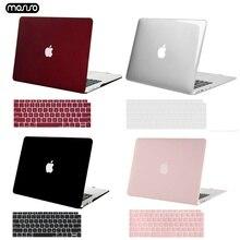 MOSISO Mới Nhất Matte Vỏ Máy Tính Xách Tay Trường Hợp Đối Với Apple MacBook Air Pro Retina 11 12 13 cho mac book Pro 13.3 trường hợp cove + Bàn Phím Cover