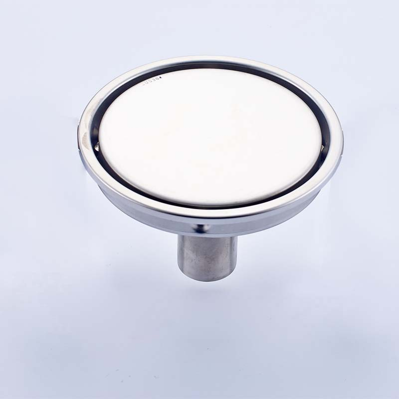 Free Shipping 304 Stainless Steel Invisible 15cm Shower Floor Drain Wetroom Grate Waste Drain Round Shape free shipping bathroom shower floor drain oil rubbed bronze grate waste drain lucky finishes