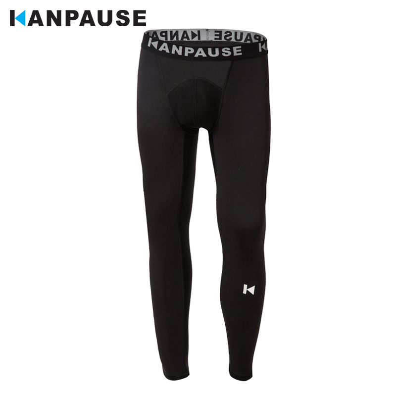 New Arrival  KANPAUSE Men's Tights Pants Running Training Pants Fitness Sportswear