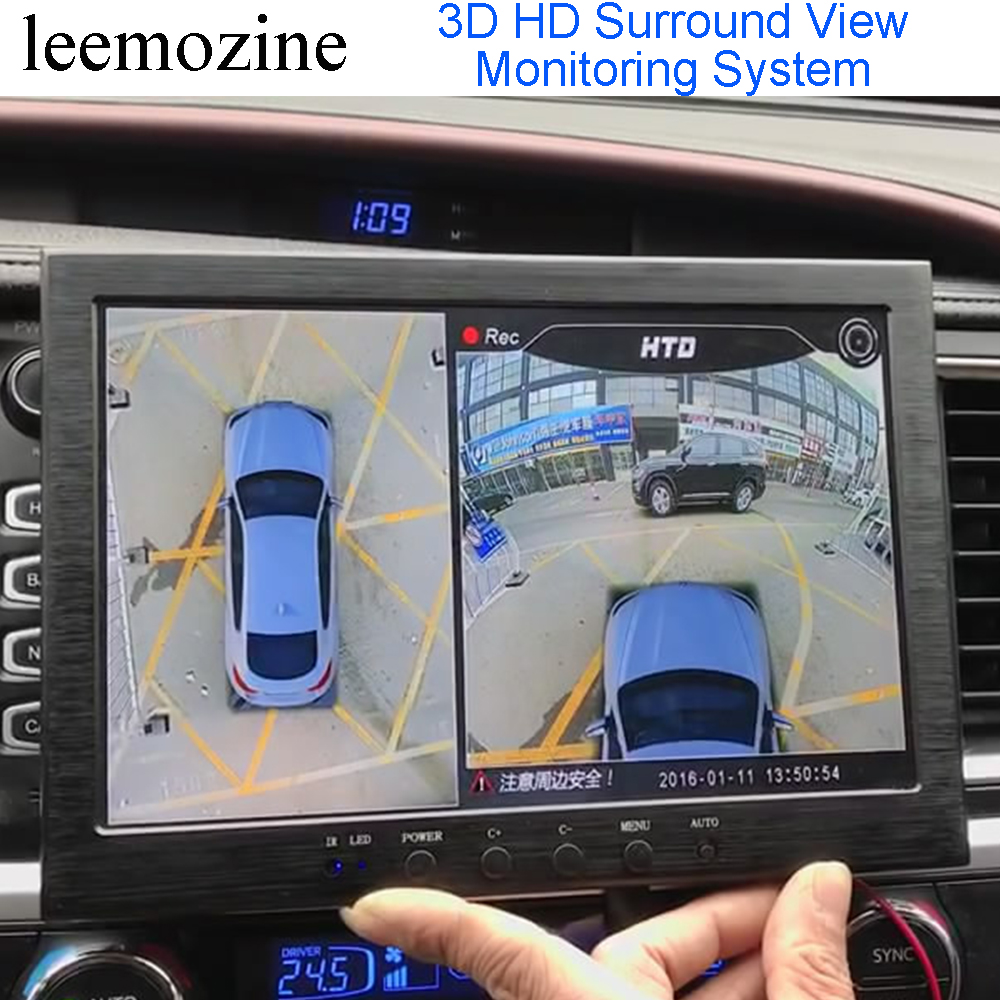 3d Hd Surround View Monitoring System 360 Degree Around